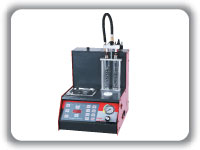 Fule injector tester and cleaner