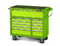 11 Drawer Long Mobile Cabinet