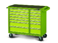 14 Drawer Long Mobile Cabinet