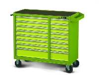16 Drawer Long Mobile Cabinet